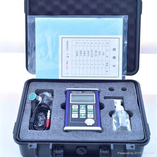 เครื่องวัดความหนาเหล็กแบบอุลตร้าโซนิค (Ultrasonic Thickness meter) รุ่นTM210B เทียบรุ่น MT-200 ราคากันเอง