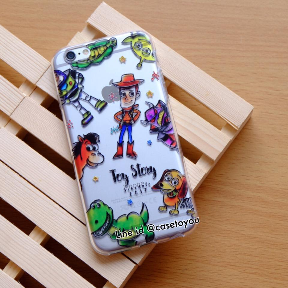 TPU Jelly Toy Story iPhone 5/5S/SE