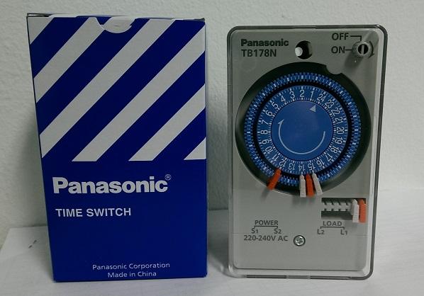"""นาฬิกาตั้งเวลา 24 ชม.TB178N """"Panasonic"""""""