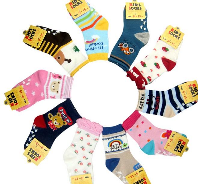ถุงเท้าเด็ก size 7-9 cm.