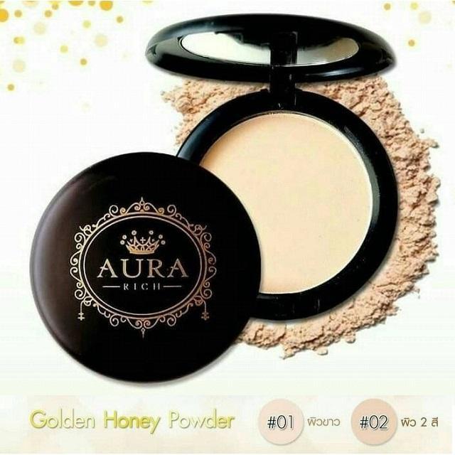 AURA RICH SPF 35 PA++Honey Gold Face Powder