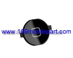 ปุ่มกด Home iPhone 4 สีดำ