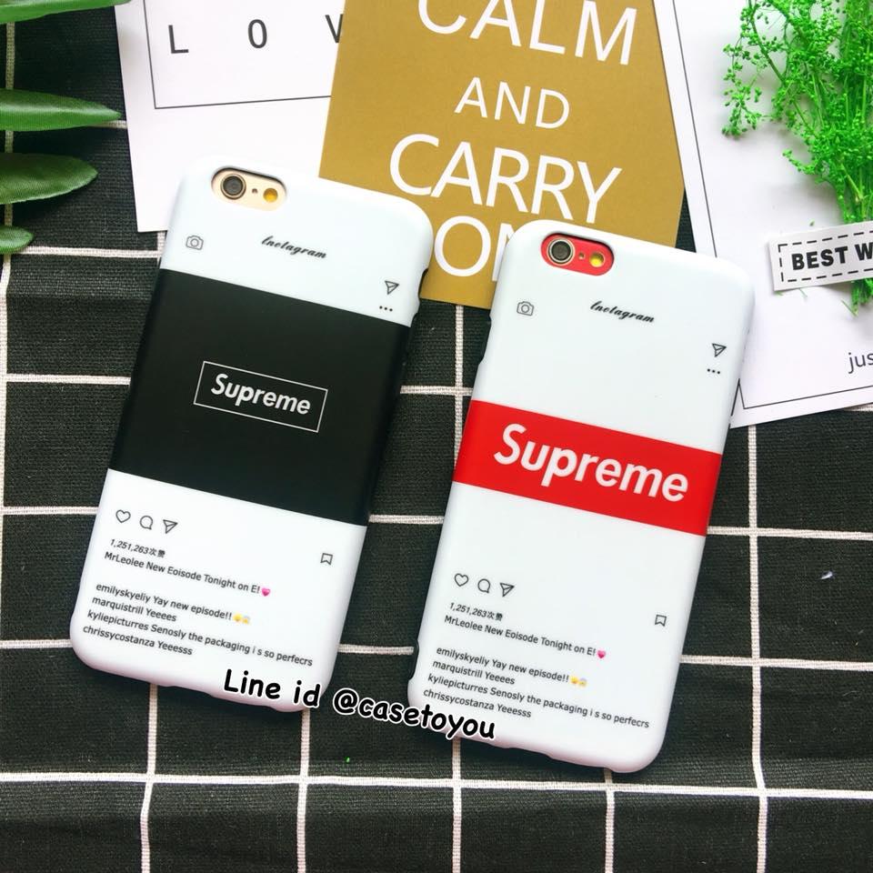 เคสนิ่ม ผิวด้าน IG Supreme iPhone X