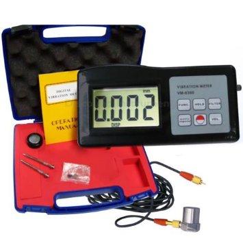 Vibration Meter vibrometer (เครื่องวัดความสั่นสะเทือน สำหรับมอเตอร์และเครื่องจักร) ความละเอียดสูง รุ่น VM-6360