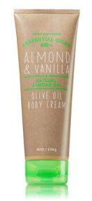 ครีมทาผิวกาย Almond & Vanilla Olive Oil พร้อมส่ง