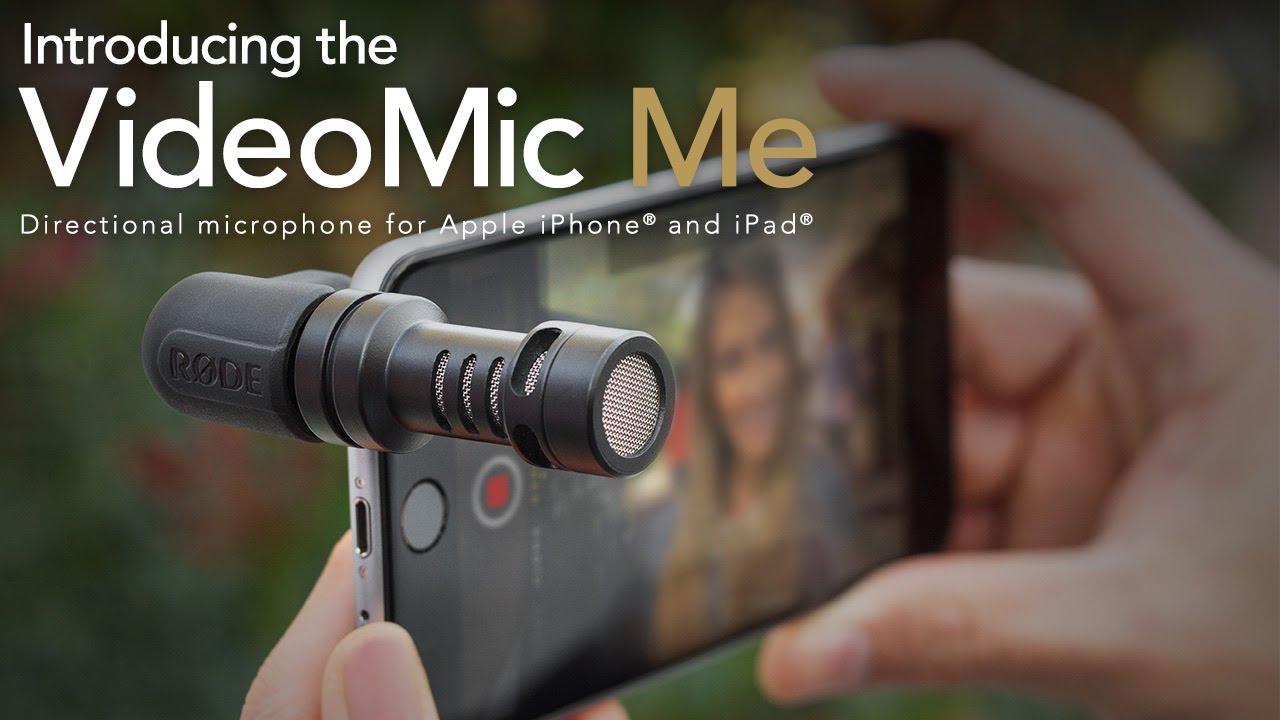 ไมโครโฟนติดโทรศัพท์ RODE VIDEOMIC ME