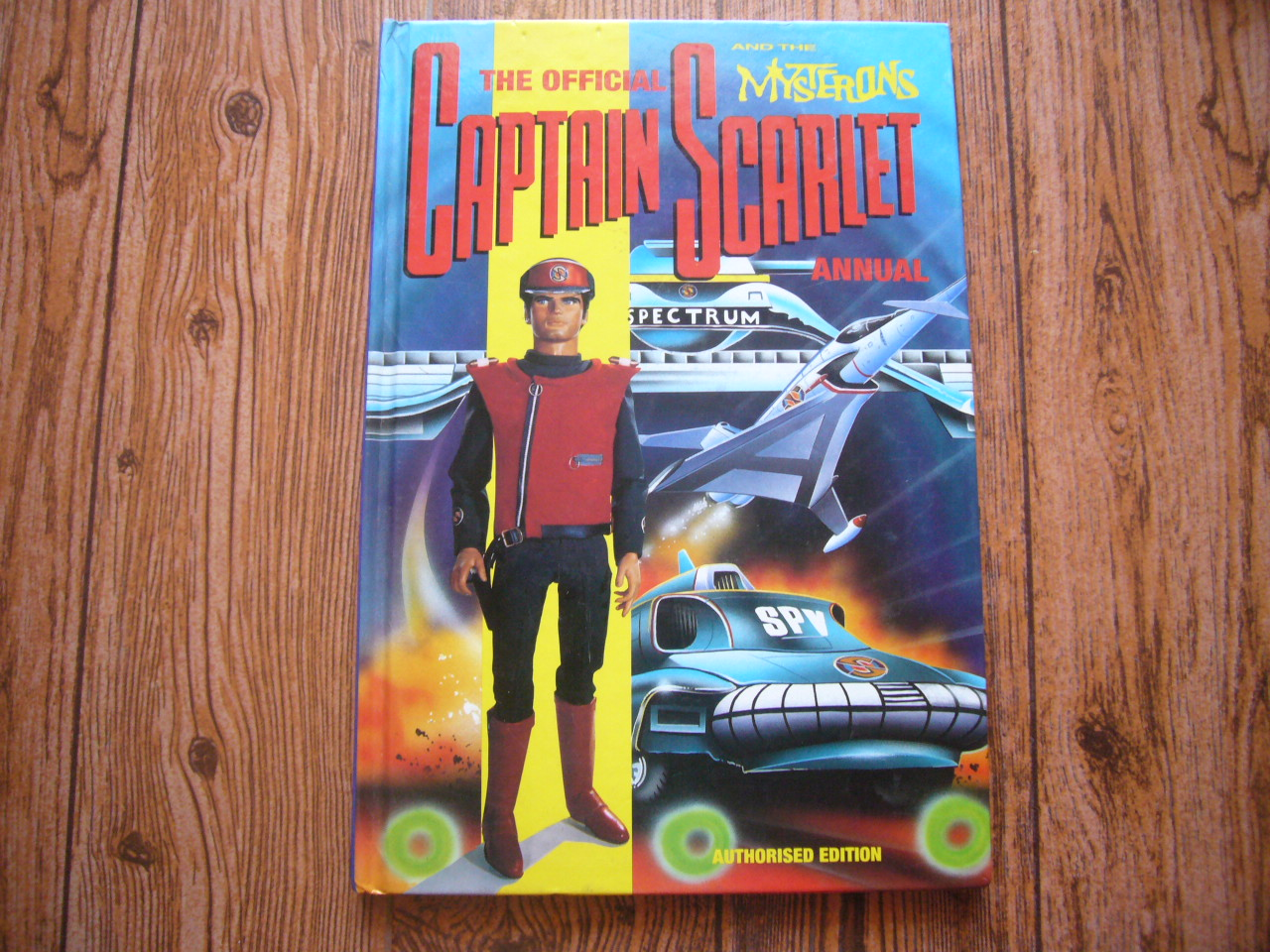 The Official Captain Scarlet and the Mysterons Annual (1993)