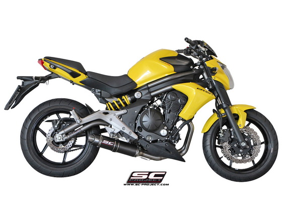 SC Project Full System Oval Carbon for Kawasaki ER6N Ninja 650 2012-2016