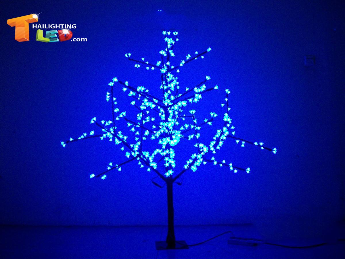 ไฟต้นเชอรี่ 1.5 m 480 led สีฟ้า