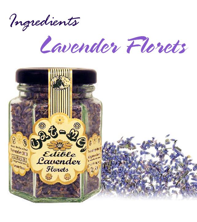 .Eat Me Edible Blue Lavender florets (5 g)