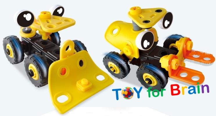 Build and Play ตัวต่อความคิด DIY Forklift