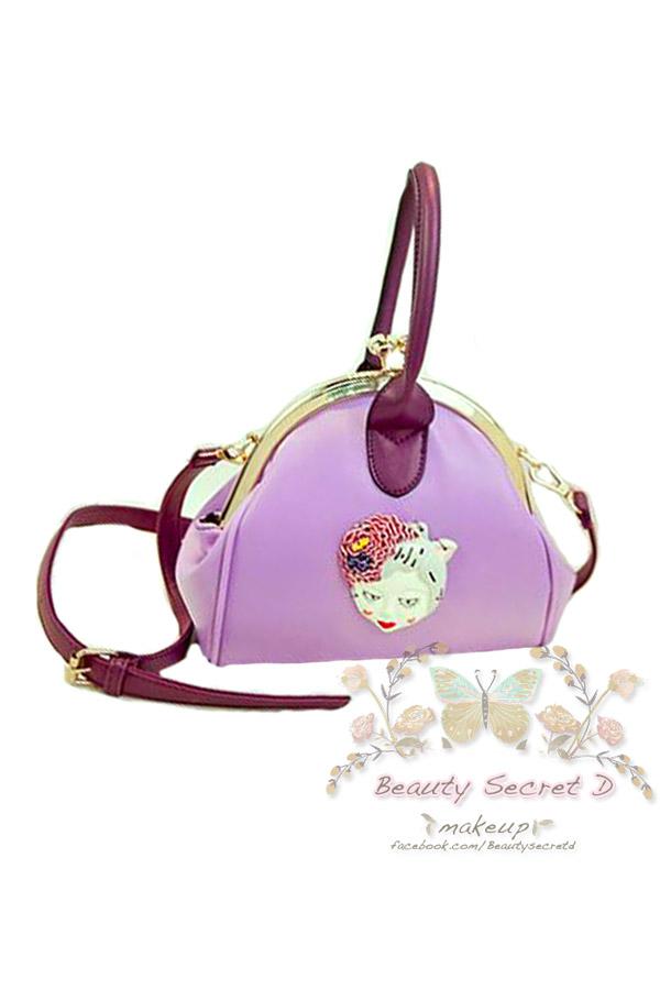 BEAUTY SECRET D กระเป๋าแฟชั่่น รุ่น 15101 (สีม่วง)