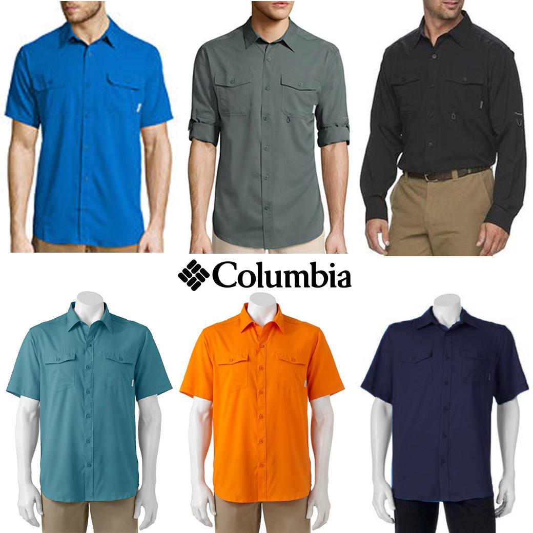 Columbia Men's Pacitic Breeze Shirt (Short & Long Sleeve)