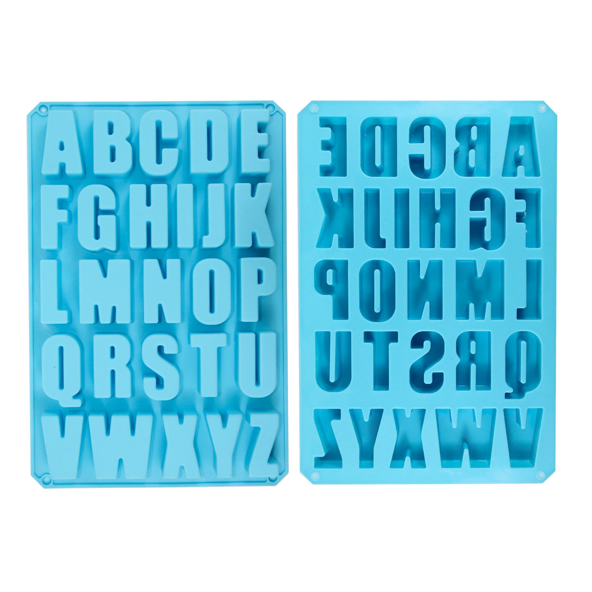 พิมพ์ซิลิโคนตัวอักษรภาษาอังกฤษ TC3033