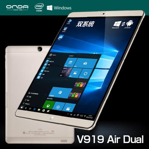 ONDA V919 AIR 32GB Black Gold 2 ระบบ Win.10/Android 4.4 จอ 9.7นิ้ว RETINA แถมเคสตรงรุ่น