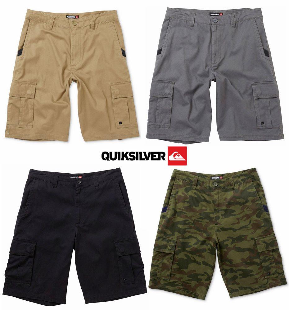 Quiksilver Measure23 Cargo Shorts