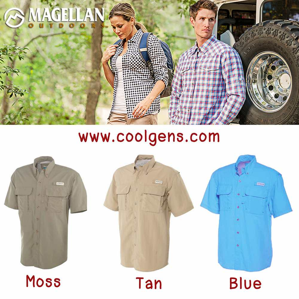 Maggellan Outdoor Short Sleeve Shirts