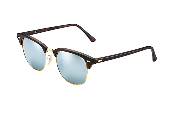 Rayban CLUBMASTER RB3016 114530 Tortoise/Silver Flash 49mm