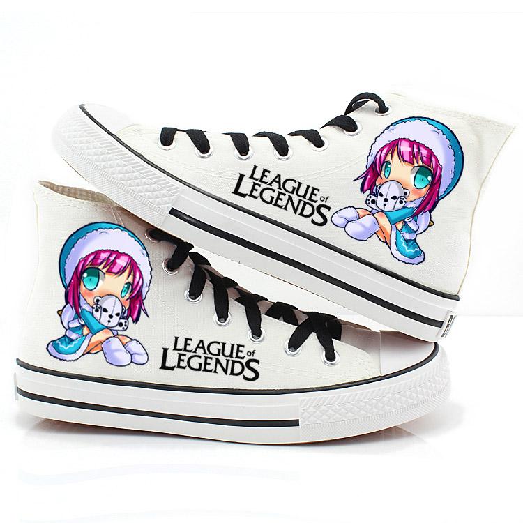 รองเท้าผ้าใบ league legends ver1