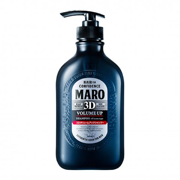 Maro 3D Volume Up Shampoo Ex มาโร ทรีดี วอลลุ่ม อัพ แชมพู เอ็กซ์ ปริมาณสุทธิ 460 ml. ราคา 445 บาท ส่งฟรี