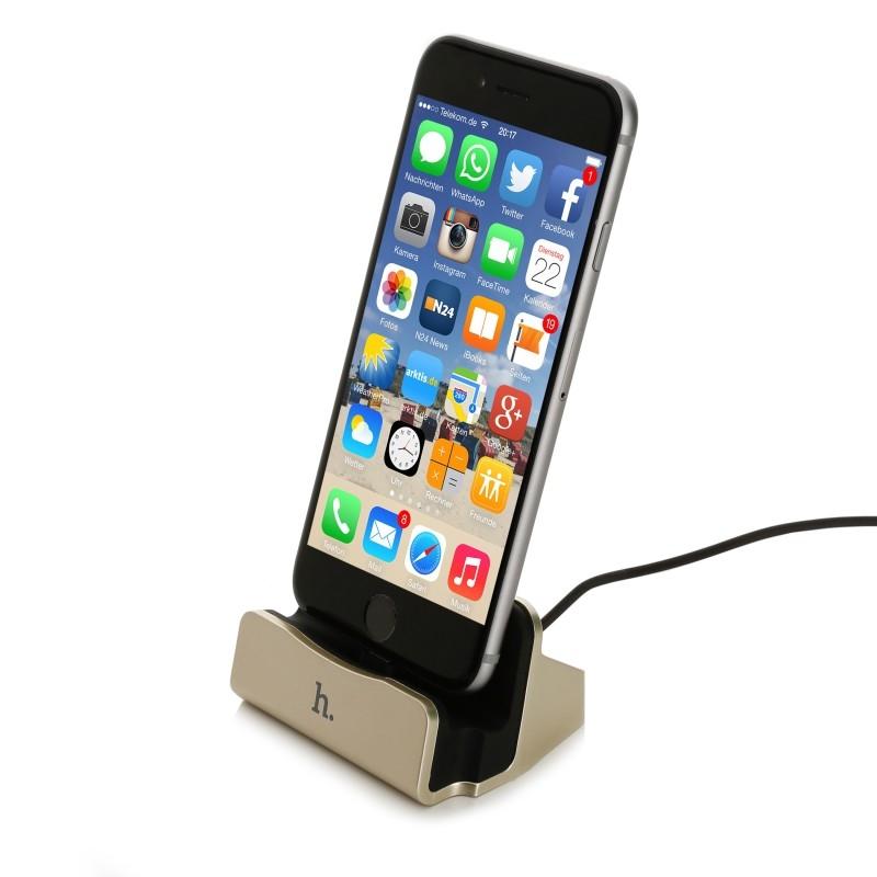 เเท่นชาร์จ Hoco Usb Charging Dock For iPhone