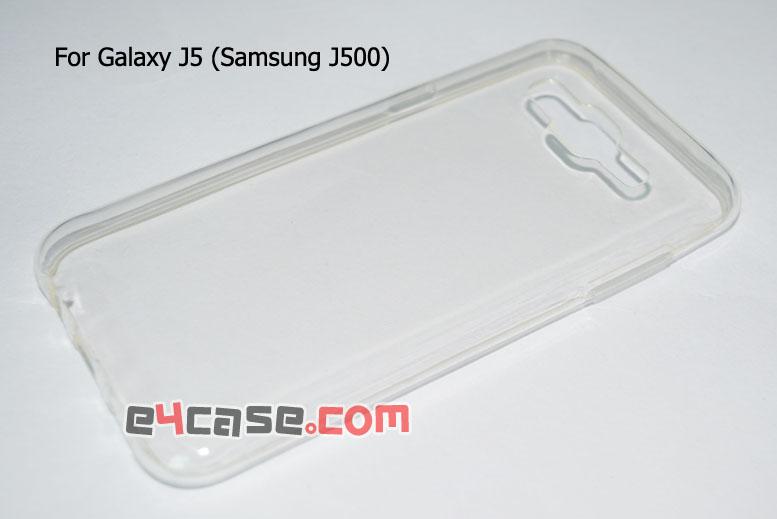 เคส Galaxy J5 (Samsung J500) - เคสยางใส