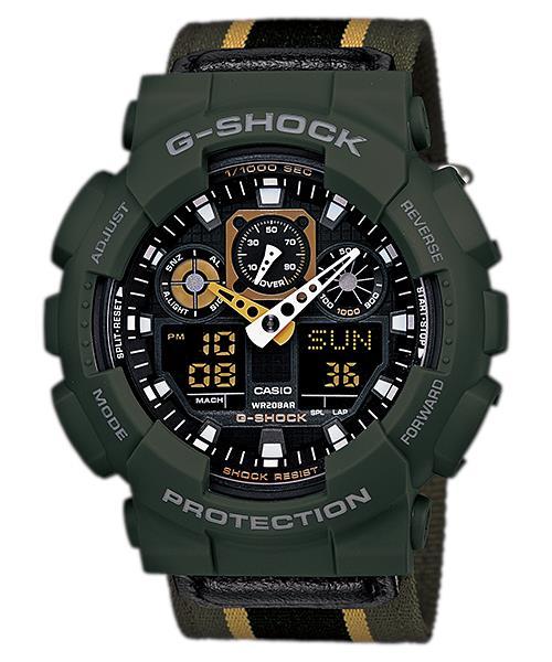 นาฬิกา คาสิโอ Casio G-Shock Limited Models รุ่น GA-100MC-3A สินค้าใหม่ ของแท้ ราคาถูก พร้อมใบรับประกัน