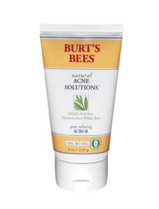 SALE 30% OFF :: BURT'S BEES :: Burt's bee Natural Acne Solutions Pore Refining Scrub สครับทำความสะอาดผิวหน้า ได้รับรางวัล The CEW Awards