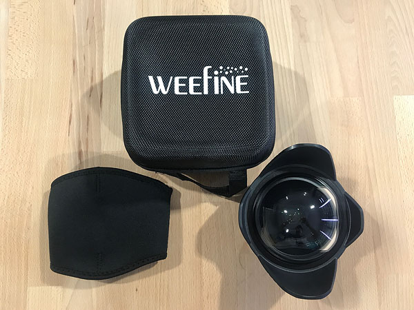 เช่า : Weefine Dome Port Ultra-Wide Angle Conversion Lens หน้า 52mm