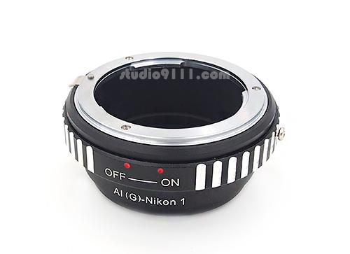 อแดปเตอร์แปลงท้ายเลนส์ NIKON G ใช้กับกล้อง NIKON 1