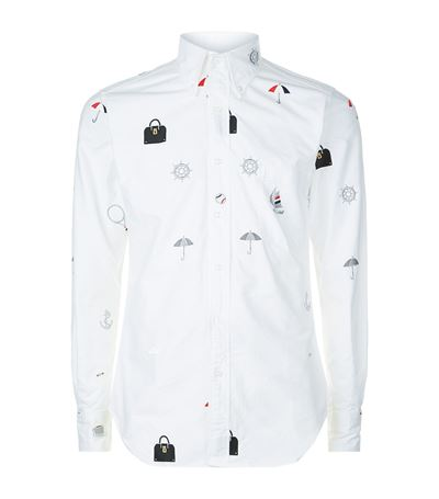 Thom Browne Embroidered Icon Shirt