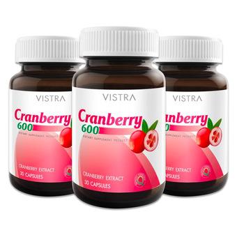 Vistra Cranberry 600 mg.