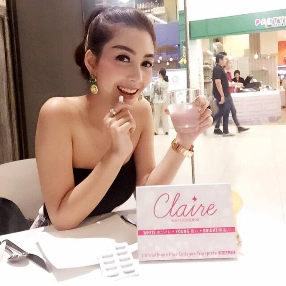 แคลร์ อาหารเสริมผิวขาวใส by วุ้นเส้น(CLAIRE Beauty Supplement)