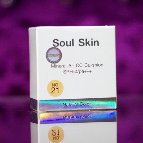 Soul Skin Mineral Air CC Cushion ตลับจริง