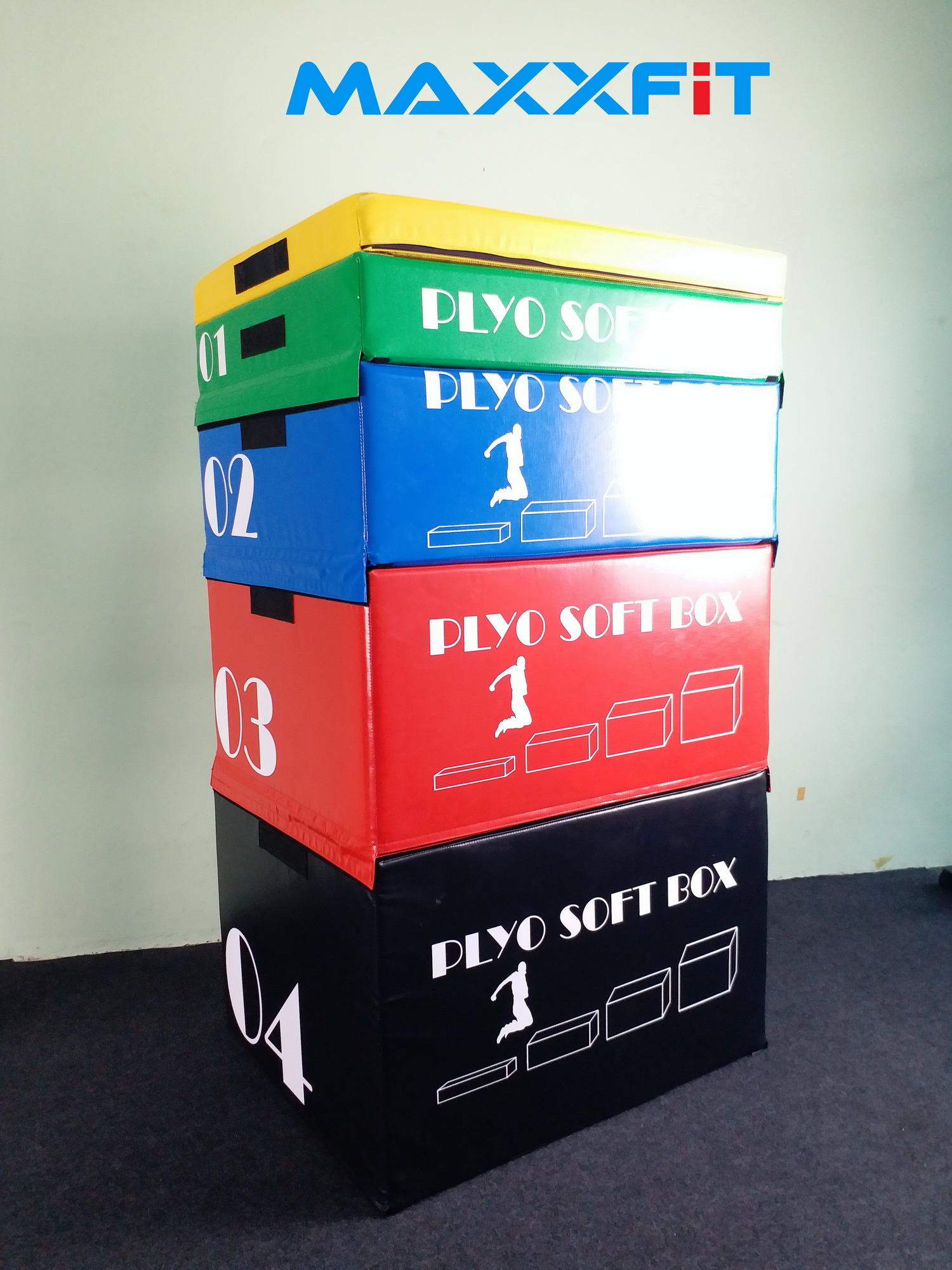 ขาย 5 Layer Set Soft Plyometric Box