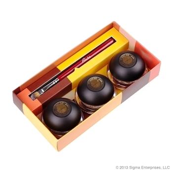 ลด 42 % SIGMA :: Eye Shadow Base Kit - Dare ชุดอายแชโดวเบส Dare 3 เฉดสี มาพร้อมแปรง F70 สำหรับอายแชโดวเบส 1 ด้าม