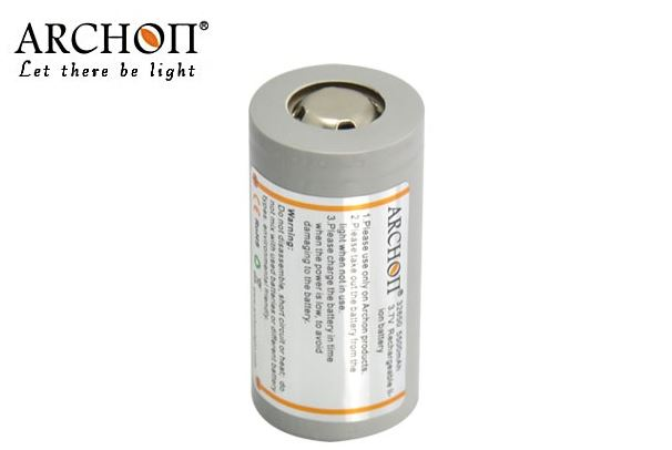 Archon 32650 6000mAh 3.7V Rechargeable Li-ion battery