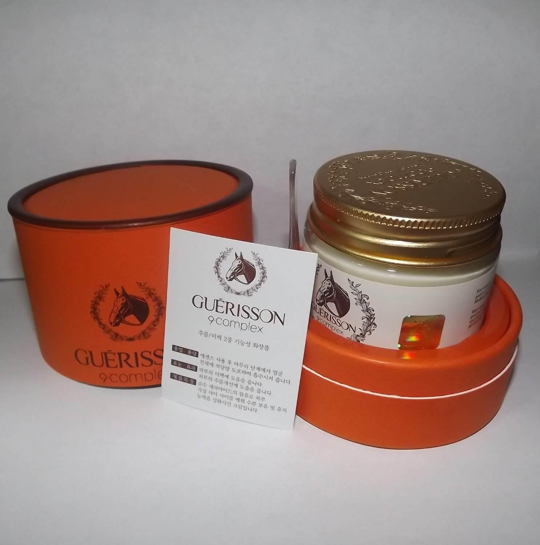Guerisson 9 Complex Cream ขนาด 70 g ครีมสกัดเข้มข้นจากน้ำมันม้า ลบเลือนริ้วรอย