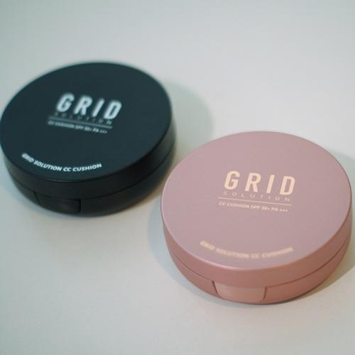 Grid Solution CC Cushion SPF 50+ PA+++ กริด โซลูชั่น ซีซี คุชชั่น แป้งน้ำแร่จากเกาหลี