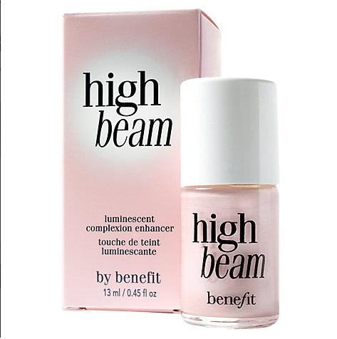 Benefit High Beam Luminescent Complexion Enhancer 13 mL ไฮไลท์เตอร์เหลวสีชมพูประกายมุข หน้าสว่างอมชมพูประกาย