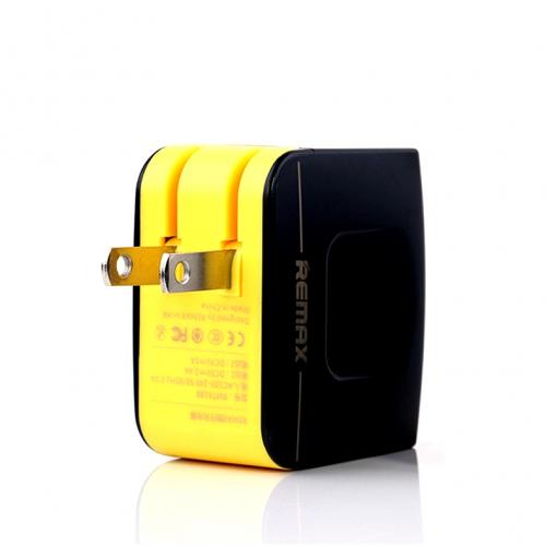 ที่ชาร์จไฟ 2 ช่อง REMAX Charger Dual USB 3.4A สีดำ