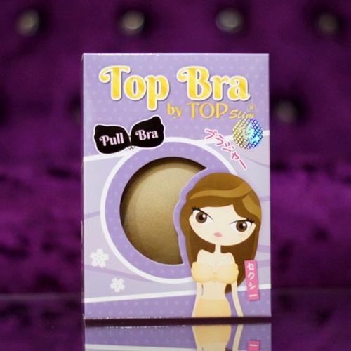 Top Bra รุ่น Pull Bra by Top Slim บราซิลิโคน ไร้สาย รูปทรงปีกนก ราคาส่งร้านไฮยาดี้ทีเค คุณอลิส
