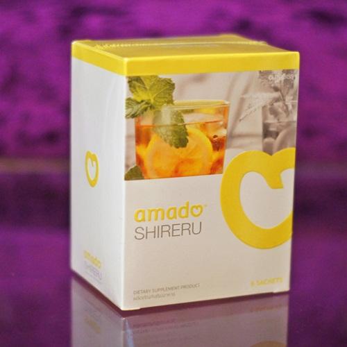 amado SHIRERU อมาโด้ ชิเรรุ เครื่องดื่มชนิดชงดื่มรสชามะนาว