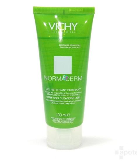 Vichy Normaderm Purifying Cleansing Gel 100 mL เจลทำความสะอาดผิวหน้า สูตรสำหรับคนเป็นสิว หน้ามัน สำเนา