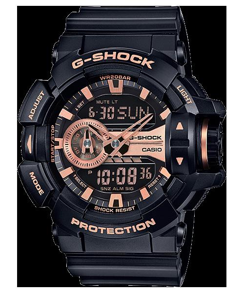 นาฬิกา คาสิโอ Casio G-Shock Limited Models Garish Black&Rosegold Series รุ่น GA-400GB-1A4 สินค้าใหม่ ของแท้ ราคาถูก พร้อมใบรับประกัน