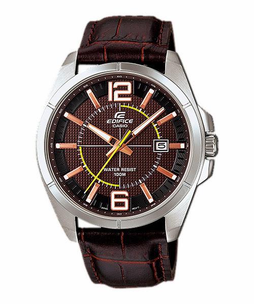 นาฬิกา คาสิโอ Casio Edifice 3-Hand Analog รุ่น EFR-101L-5AV สินค้าใหม่ ของแท้ ราคาถูก พร้อมใบรับประกัน