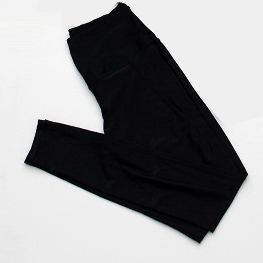 [Size S,M,L] กางเกง Legging ขายาว (สีดำ)