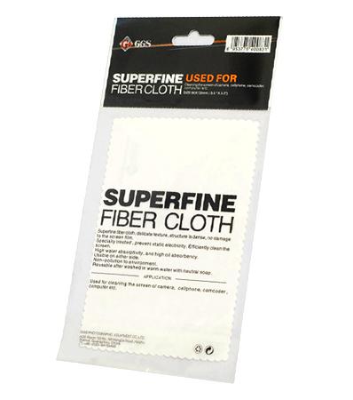 ผ้าเช็ดเลนส์อย่างดี GGS Super Fine Fiber Cloth