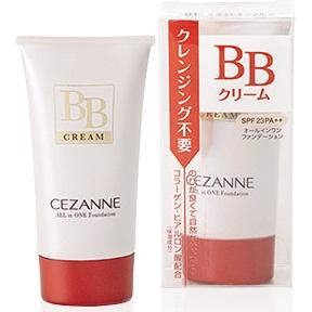 Cezanne All in One Foundation BB Cream SPF23 PA++ #01 Light Ochre ผิวขาว พร้อมสรรพทั้งบีบีและกันแดดระหว่างวันค่ะ