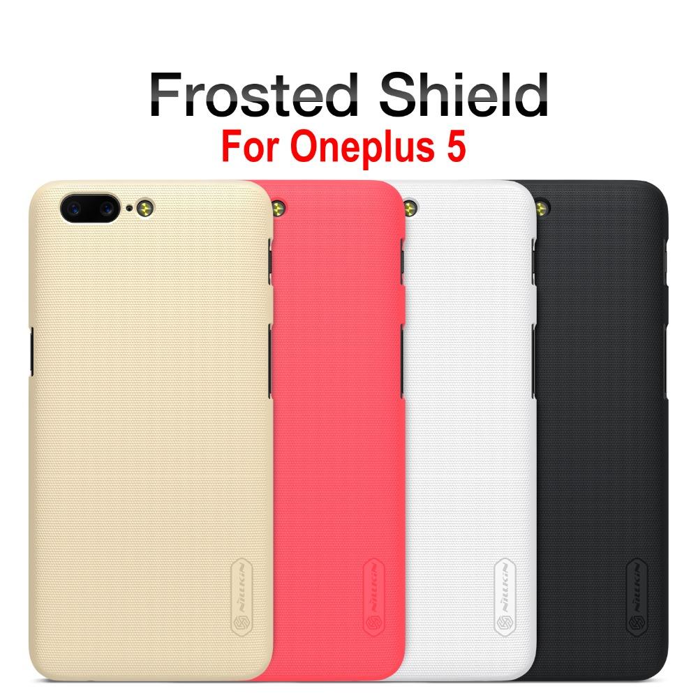 [พรีออเดอร์] Case Oneplus 5 NILLKIN Super Frosted Shield